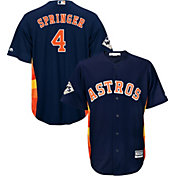 Majestic Men's 2017 World Series Replica Houston Astros George Springer Cool Base Alternate Navy Jersey