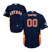 Majestic Men's Full Roster Replica 2017 World Series Champions Houston Astros Cool Base Alternate Navy Jersey