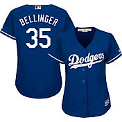 Majestic Women's Replica Los Angeles Dodgers Cody Bellinger #35 Cool Base Alternate Royal Jersey