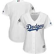 Majestic Women's 2017 World Series Replica Los Angeles Dodgers Cool Base Home White Jersey