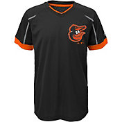 Majestic Youth Baltimore Orioles Cool Base Emergence Grey Performance T-Shirt