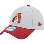New Era Men's Arizona Diamondbacks 9Forty Grey/Red Adjustable Hat