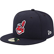 New Era Men's Cleveland Indians 59Fifty Alternate Navy Authentic Hat