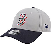 New Era Men's Boston Red Sox Americana 9Forty Grey Adjustable Hat