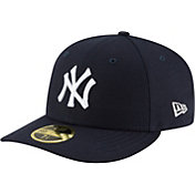 New Era Men's New York Yankees 59Fifty Game Navy Low Crown Authentic Hat