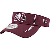 New Era Men's Mississippi State Bulldogs Maroon Speed Visor