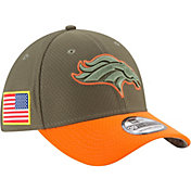 New Era Men's Denver Broncos Salute to Service 2017 39Thirty Stretch Fit Hat