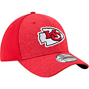 New Era Men's Kansas City Chiefs Shadow 39Thirty Stretch Fit Hat