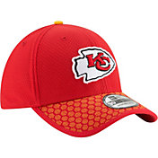 New Era Men's Kansas City Chiefs Sideline 2017 On-Field 39Thirty Flex Hat
