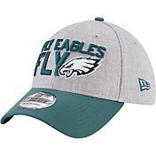 New Era Men's Philadelphia Eagles 2018 NFL Draft 39Thirty Stretch Fit Grey Hat
