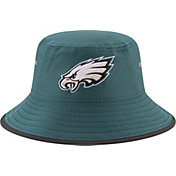 New Era Men's Philadelphia Eagles 2017 Training Camp Teal Bucket Hat
