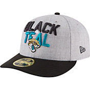 New Era Men's Jacksonville Jaguars 2018 NFL Draft 59Fifty Fitted Grey Hat