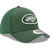 New Era Men's New York Jets Shadow 39Thirty Stretch Fit Hat