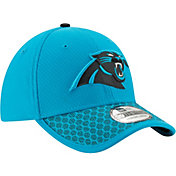 New Era Men's Carolina Panthers Sideline 2017 On-Field 39Thirty Flex Hat