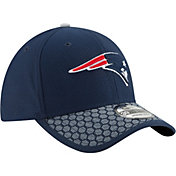 New Era Men's New England Patriots Sideline 2017 On-Field 39Thirty Stretch Fit Hat