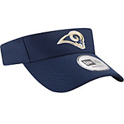 New Era Men's Los Angeles Rams 2017 Training Camp Navy Adjustable Visor