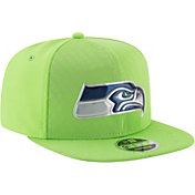 New Era Men's Seattle Seahawks Color Rush 2017 On-Field 9Fifty Snapback Adjustable Hat