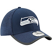 New Era Men's Seattle Seahawks 2017 Training Camp 39Thirty Navy Stretch Fit Hat