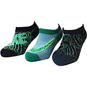 Nike Boys' Graphic No Show Socks 3 Pack