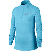 Nike Girls' Run Elements Long Sleeve Pullover