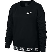 Nike Girls' Studio Crew Training Pullover