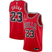 Nike Men's Chicago Bulls Michael Jordan #23 Red Dri-FIT Swingman Jersey