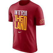 "Nike Men's Cleveland Cavaliers Dri-FIT ""In It For The Land"" Red T-Shirt"