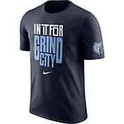 "Nike Men's Memphis Grizzlies Dri-FIT ""In It For Grind City"" Navy T-Shirt"