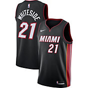 Nike Men's Miami Heat Hassan Whiteside #21 Black Dri-FIT Swingman Jersey