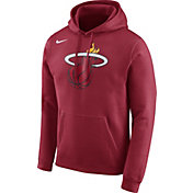Nike Men's Miami Heat Club Red Pullover Hoodie