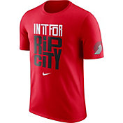 "Nike Men's Portland Trail Blazers Dri-FIT ""In It For Rip City"" Red T-Shirt"