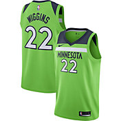 Nike Men's Minnesota Timberwolves Andrew Wiggins #22 Green Statement Dri-FIT Swingman Jersey