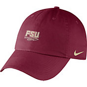 Nike Men's Florida State Seminoles Garnet Heritage86 Small Logo Adjustable Hat