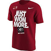 Nike Men's Georgia Bulldogs 2018 Rose Bowl Game Champions Locker Room T-Shirt