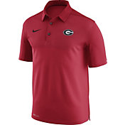 Nike Men's Georgia Bulldogs Red Elite Football Sideline Polo