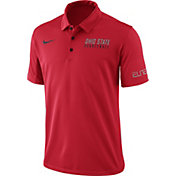 Nike Men's Scarlet Ohio State Buckeyes Basketball Polo