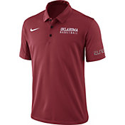 Nike Men's Crimson Oklahoma Sooners Basketball Polo
