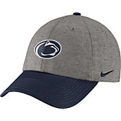 Nike Men's Penn State Nittany Lions Grey/Blue Heritage86 Heather Adjustable Hat
