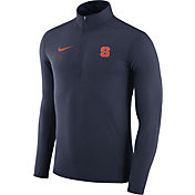 Nike Men's Syracuse Orange Blue Element Performance Quarter-Zip