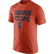 Nike Men's Syracuse Orange 'Orange Hoops' Orange Basketball T-Shirt