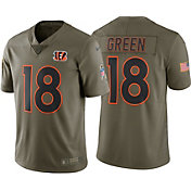 Nike Men's Home Limited Salute to Service Cincinnati Bengals A.J. Green #18 Jersey