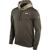 Nike Men's Denver Broncos Salute to Service 2017 Therma-FIT Performance Hoodie