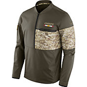 Nike Men's Kansas City Chiefs Salute to Service 2017 Shield Hybrid Jacket