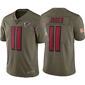 Nike Men's Home Limited Salute to Service Atlanta Falcons Julio Jones #11 Jersey