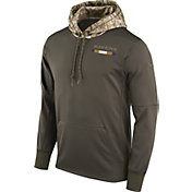 Nike Men's Baltimore Ravens Salute to Service 2017 Therma-FIT Performance Hoodie