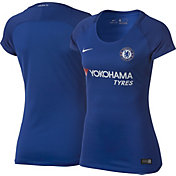 Nike Women's Chelsea FC Breathe Replica Home Stadium Jersey