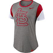 Nike Women's St. Louis Cardinals Tri-Blend T-Shirt