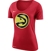 Nike Women's Atlanta Hawks Dri-FIT Red Logo T-Shirt