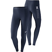 Nike Women's Michigan Wolverines Blue Pro Tights