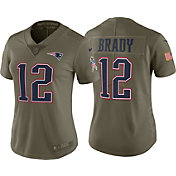 Nike Women's Home Limited Salute to Service New England Patriots Tom Brady #12 Jersey